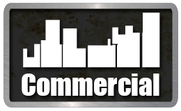 commercial plumbing services, covering stores, restaurants, service shops, and industrial