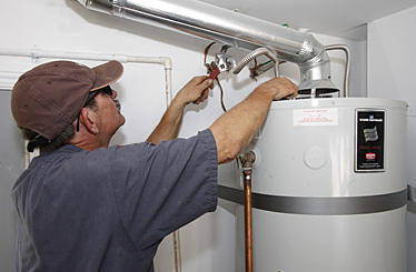 White Settlement plumbing contractor installs water heater connections